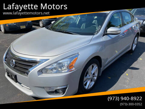 2015 Nissan Altima for sale at Lafayette Motors in Lafayette NJ
