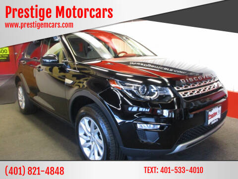 2017 Land Rover Discovery Sport for sale at Prestige Motorcars in Warwick RI