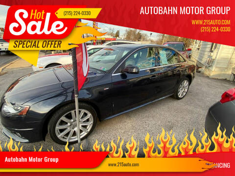 2012 Audi A4 for sale at Autobahn Motor Group in Willow Grove PA