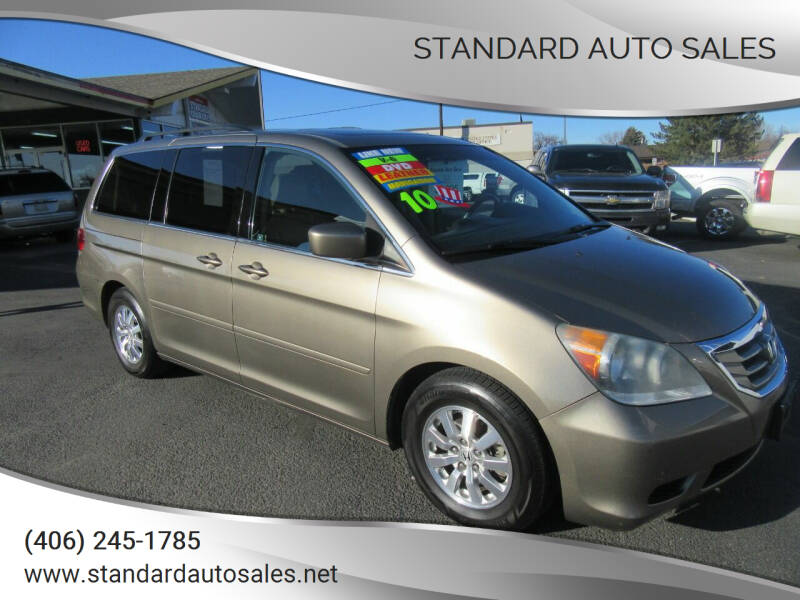 2010 Honda Odyssey for sale at Standard Auto Sales in Billings MT