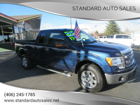 2013 Ford F-150 for sale at Standard Auto Sales in Billings MT