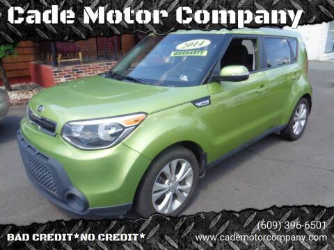2014 Kia Soul for sale at Cade Motor Company in Lawrenceville NJ