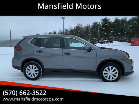 2019 Nissan Rogue for sale at Mansfield Motors in Mansfield PA