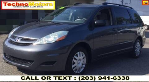 2006 Toyota Sienna for sale at Techno Motors in Danbury CT
