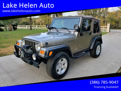 2006 Jeep Wrangler for sale at Lake Helen Auto in Lake Helen FL