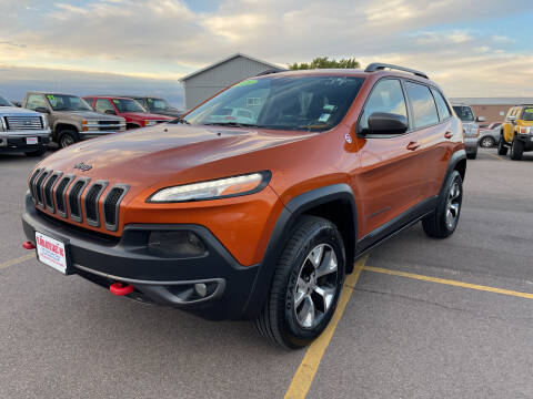 2015 Jeep Cherokee for sale at De Anda Auto Sales in South Sioux City NE