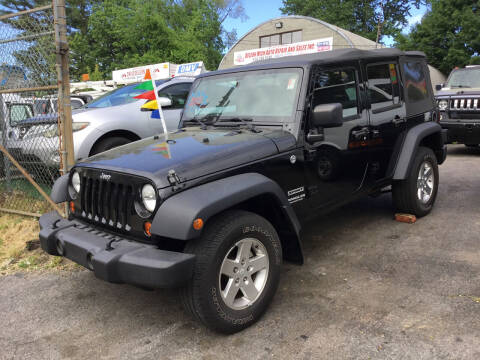 2012 Jeep Wrangler Unlimited for sale at Drive Deleon in Yonkers NY