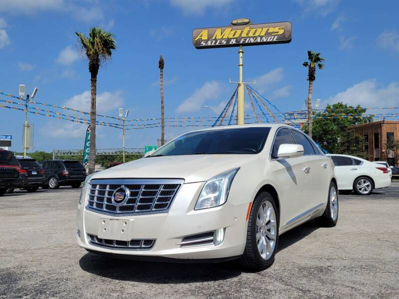 2015 Cadillac XTS for sale at A MOTORS SALES AND FINANCE in San Antonio TX
