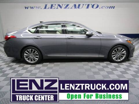2015 Hyundai Genesis for sale at LENZ TRUCK CENTER in Fond Du Lac WI