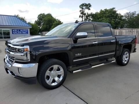 2018 Chevrolet Silverado 1500 for sale at Kell Auto Sales, Inc in Wichita Falls TX