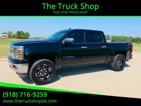 2014 Chevrolet Silverado 1500 for sale at The Truck Shop in Okemah OK