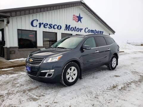 2013 Chevrolet Traverse for sale at Cresco Motor Company in Cresco IA