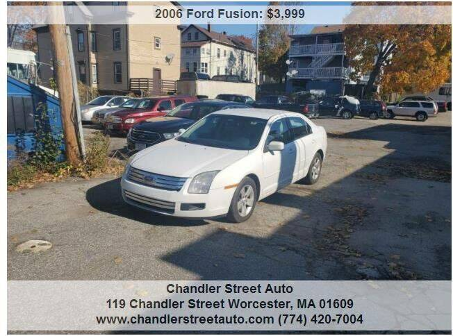 2006 Ford Fusion for sale at Beacon Auto Sales Inc in Worcester MA
