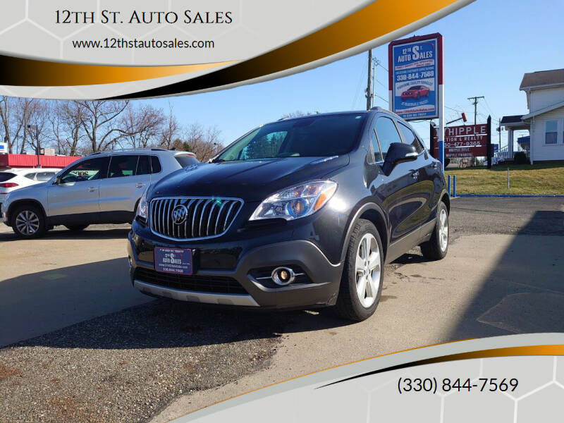 2015 Buick Encore for sale at 12th St. Auto Sales in Canton OH