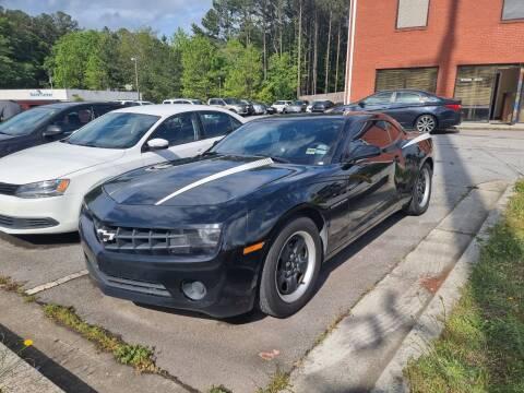 2013 Chevrolet Camaro for sale at Credit Cars LLC in Lawrenceville GA