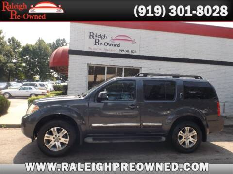 2011 Nissan Pathfinder for sale at Raleigh Pre-Owned in Raleigh NC