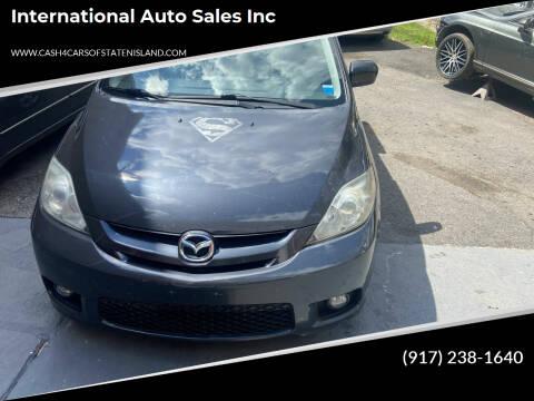 2006 Mazda MAZDA5 for sale at International Auto Sales Inc in Staten Island NY