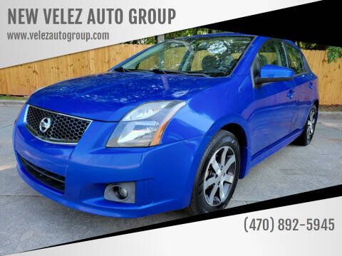 2012 Nissan Sentra for sale at NEW VELEZ AUTO GROUP in Gainesville GA