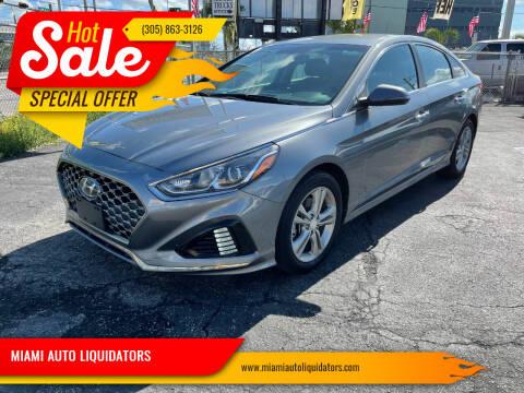 2019 Hyundai Sonata for sale at MIAMI AUTO LIQUIDATORS in Miami FL