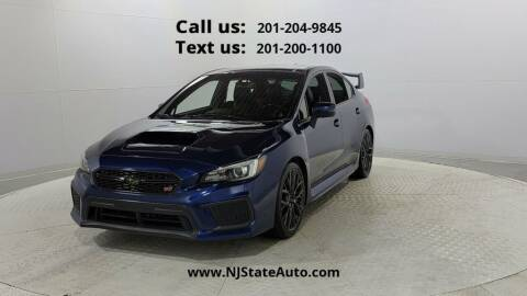 2018 Subaru WRX for sale at NJ State Auto Used Cars in Jersey City NJ
