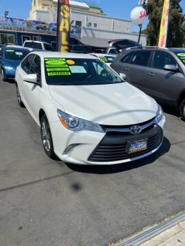 2017 Toyota Camry for sale at 2955 FIRESTONE BLVD - 3271 E. Firestone Blvd Lot in South Gate CA