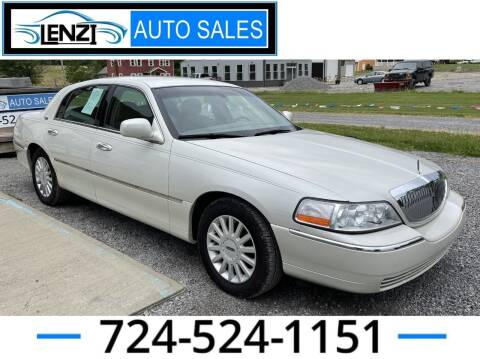 2005 Lincoln Town Car for sale at LENZI AUTO SALES in Sarver PA