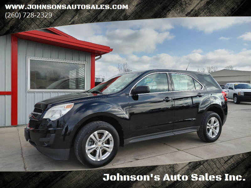 2011 Chevrolet Equinox for sale at Johnson's Auto Sales Inc. in Decatur IN