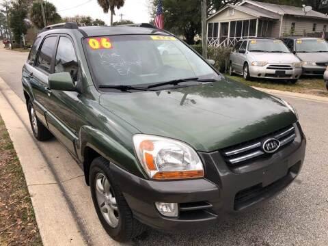2006 Kia Sportage for sale at Castagna Auto Sales LLC in Saint Augustine FL