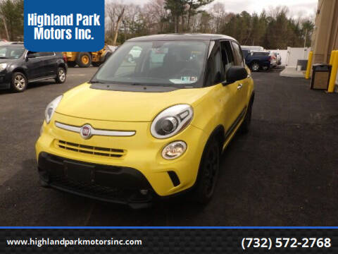 2015 FIAT 500L for sale at Highland Park Motors Inc. in Highland Park NJ