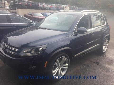 2012 Volkswagen Tiguan for sale at J & M Automotive in Naugatuck CT