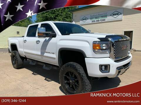 2016 GMC Sierra 2500HD for sale at RamKnick Motors LLC in Pekin IL