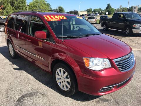 2015 Chrysler Town and Country for sale at Suarez Auto Sales in Port Huron MI