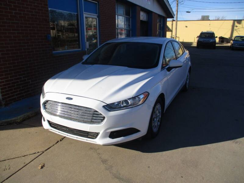 2014 Ford Fusion for sale at Discount Motor Sales LLC in Wichita KS