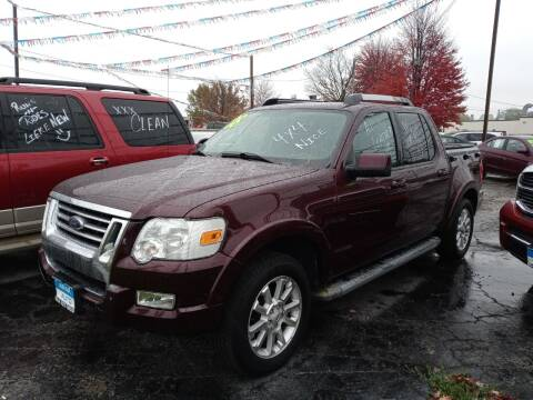 2008 Ford Explorer Sport Trac for sale at Arak Auto Group in Bourbonnais IL