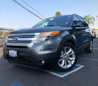 2015 Ford Explorer for sale at LUGO AUTO GROUP in Sacramento CA