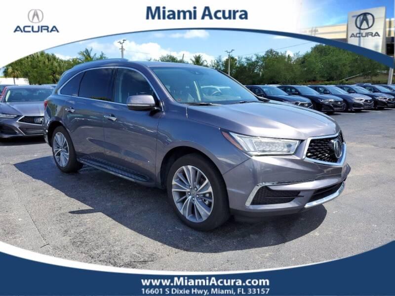 2018 Acura MDX for sale at MIAMI ACURA in Miami FL