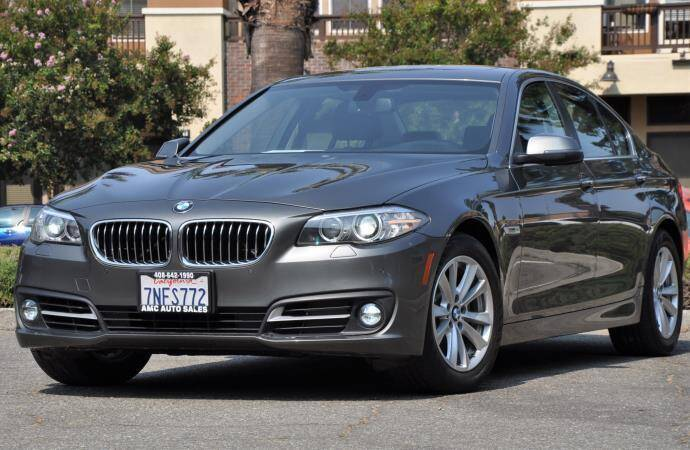 2015 BMW 5 Series for sale at AMC Auto Sales Inc in San Jose CA