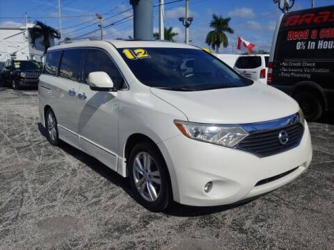 2012 Nissan Quest for sale at Brascar Auto Sales in Pompano Beach FL
