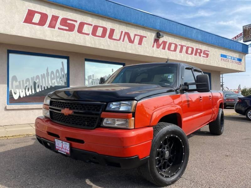 2003 Chevrolet Silverado 2500HD for sale at Discount Motors in Pueblo CO