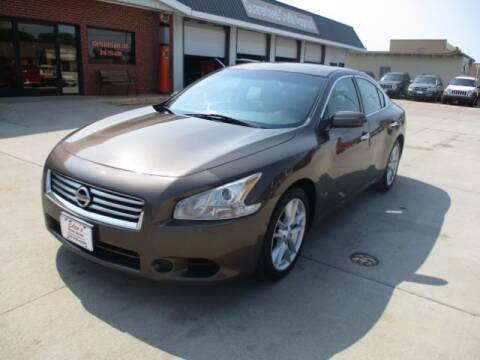 2013 Nissan Maxima for sale at Eden's Auto Sales in Valley Center KS