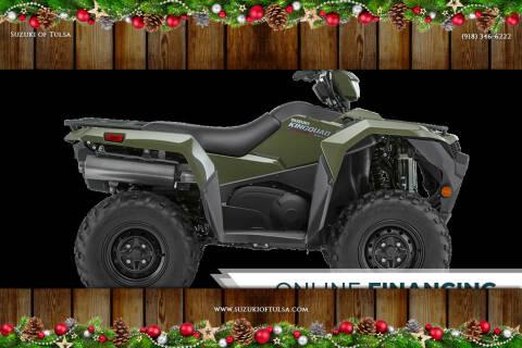 2020 Suzuki King Quad 500 AXi Powersteerin for sale at Suzuki of Tulsa in Tulsa OK
