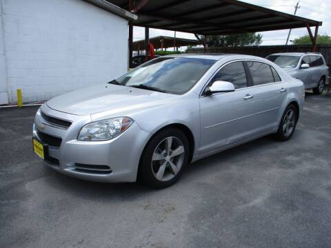 2012 Chevrolet Malibu for sale at Metroplex Motors Inc. in Houston TX