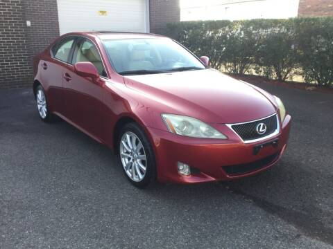 2007 Lexus IS 250 for sale at International Motor Group LLC in Hasbrouck Heights NJ