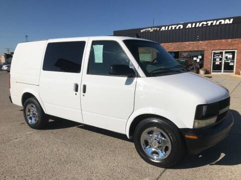 2004 Chevrolet Astro Cargo for sale at Motor City Auto Auction in Fraser MI