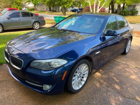 2012 BMW 5 Series for sale at A A Auto Clinic and automotive sales in Niceville FL