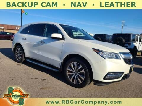 2015 Acura MDX for sale at R & B Car Co in Warsaw IN