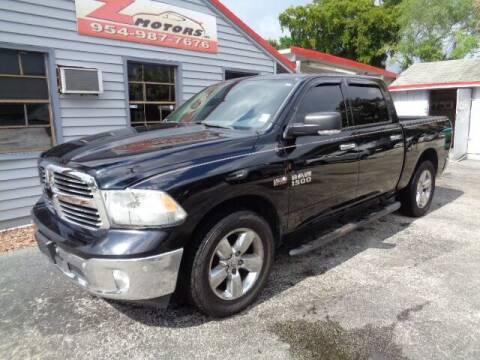 2014 RAM Ram Pickup 1500 for sale at Z Motors in North Lauderdale FL