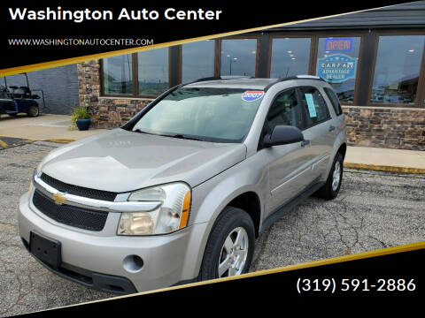 2007 Chevrolet Equinox for sale at Washington Auto Center in Washington IA