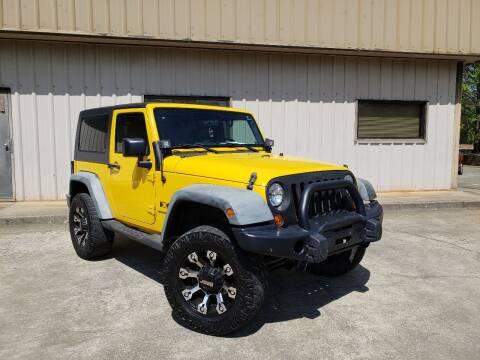 2008 Jeep Wrangler for sale at M & A Motors LLC in Marietta GA