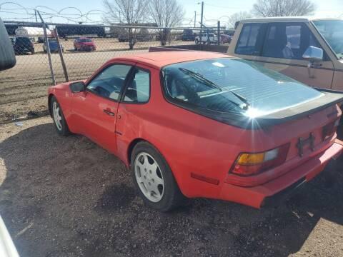 1987 Porsche 944 for sale at PYRAMID MOTORS - Fountain Lot in Fountain CO